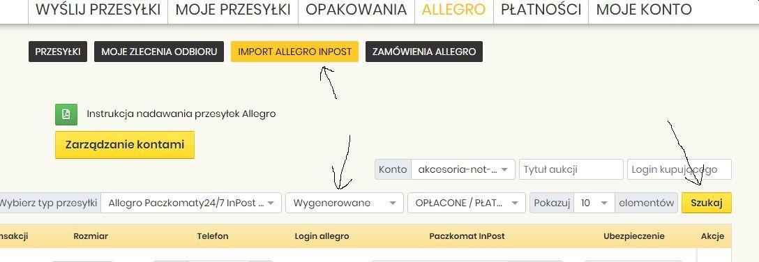 Drugie Wyslanie Paczki Allegro Inpost Jak Wyslac Spolecznosc Allegro 31203