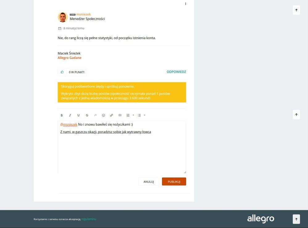 Błędy Allegro Gadane - Społeczność Allegro - 2826 2020-01-28.2.jpeg