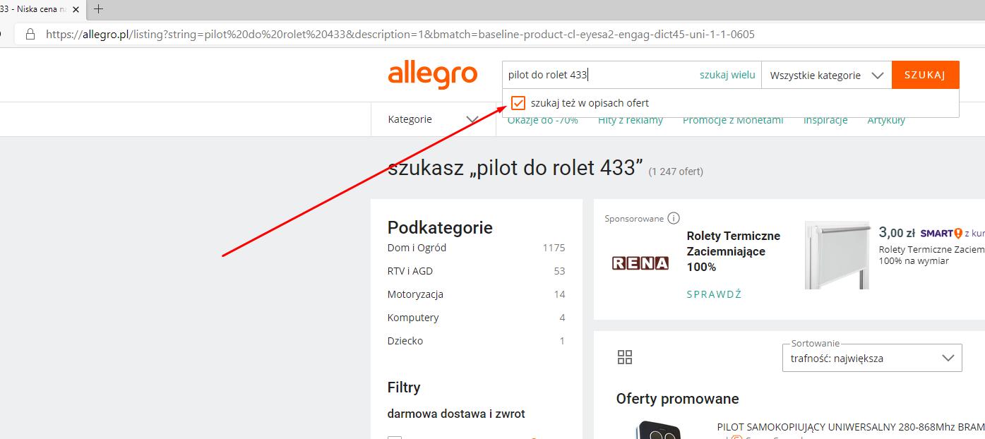 Allegro Gdzie Jest Opcja Szukaj W Opisach Ofert Strona 3 Spolecznosc Allegro 46716