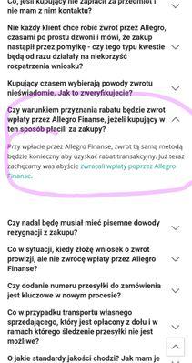 Rozwiazano Nowe Zasady Przyznawania Zwrotu Prowizji A Zerowy Stan Konta Na Payu Spolecznosc Allegro 9433