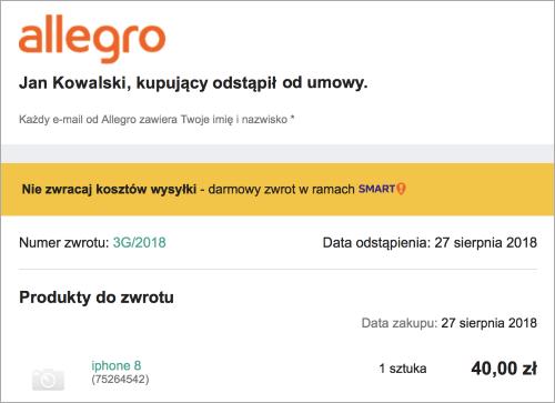 Allegro Smart Zwrot Kosztow Wysylki Spolecznosc Allegro 15956