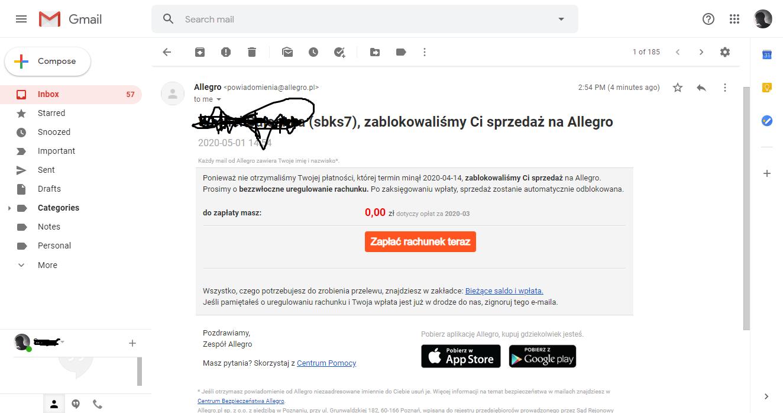 Rozwiazano Zablokowana Sprzedaz Strona 2 Spolecznosc Allegro 26784
